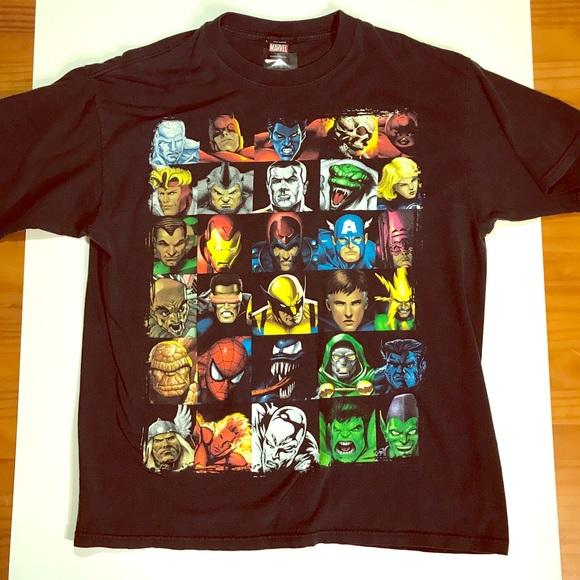 ad44e381c Marvel Shirts | Vintage Superhero Graphic Tee Shirt | Poshmark